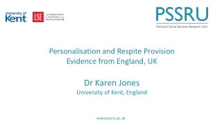 Overview Social and health care system in England, UK Personalisation agenda in England, UK