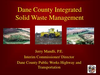 Dane County Integrated Solid Waste Management
