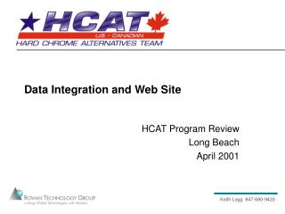 Data Integration and Web Site