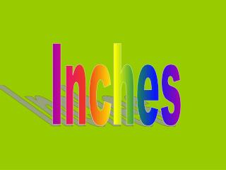 Inches