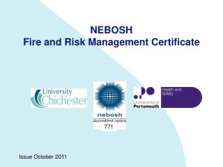 NEBOSH  Fire and Risk Management Certificate