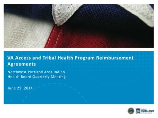 VA Access and Tribal Health Program Reimbursement Agreements