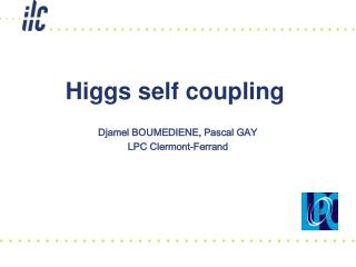 Higgs self coupling