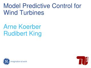 Model Predictive Control for Wind Turbines