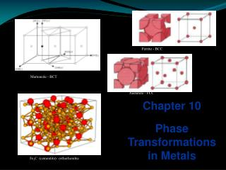 Chapter 10 Phase Transformations in Metals