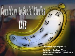 Countdown to Social Studies TAKS
