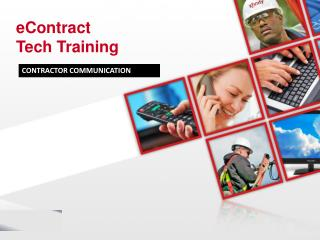 eContract  Tech Training