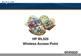 HP WL520 Wireless Access Point