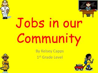 Jobs in our Community