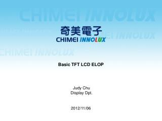 Basic TFT LCD ELOP