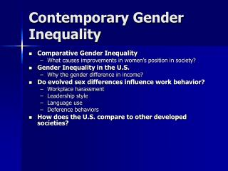 gender differences in workplace essay