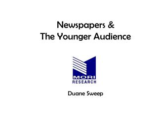 Newspapers & The Younger Audience