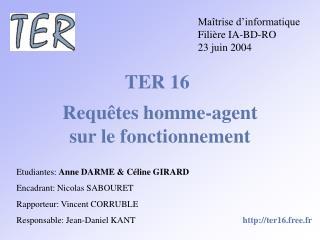 TER 16