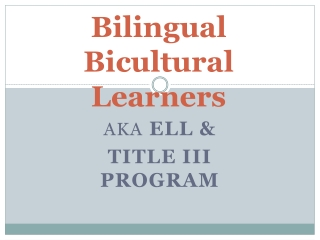 WIDA Standards and Assessments for English Language Learners in Kindergarten through Grade 12