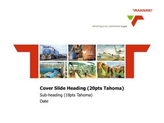 Cover Slide Heading (20pts Tahoma)