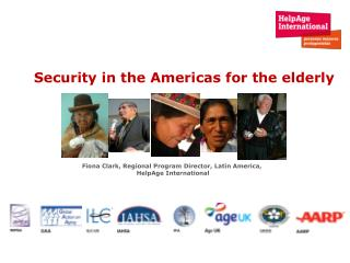 Security in the Americas for the elderly