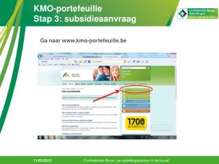 KMO-portefeuille Stap 3: subsidieaanvraag