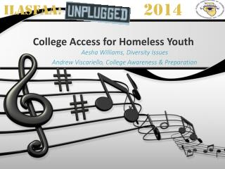 College Access for Homeless Youth