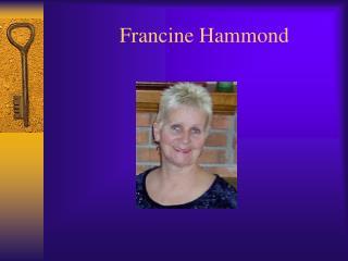 Francine Hammond
