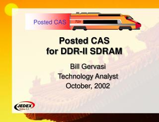 Posted CAS for DDR-II SDRAM