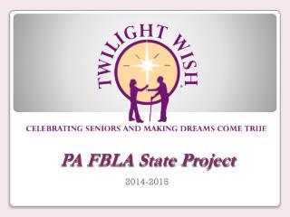 PA FBLA State Project