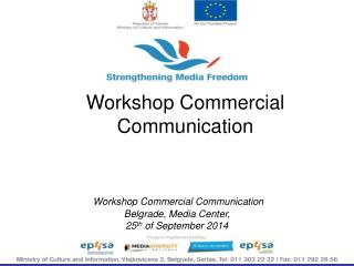 Workshop  Commercial Communication