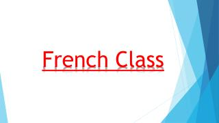French Class