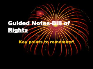 Guided Notes-Bill of Rights