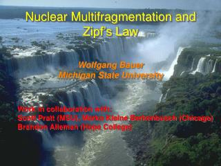 Nuclear Multifragmentation and Zipf's Law