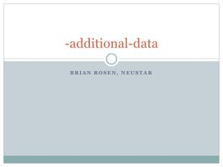 -additional-data
