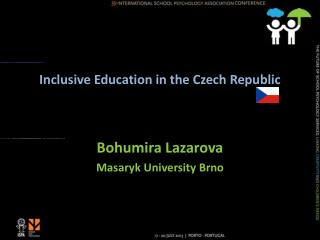 Inclusive Education in the Czech Republic