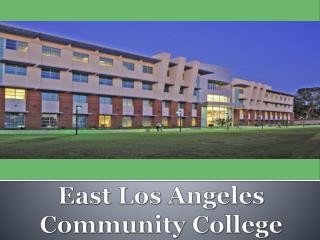 East Los Angeles Community College