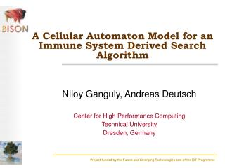 A Cellular Automaton Model for an Immune System Derived Search Algorithm