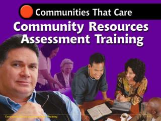 Community Resources Assessment Training