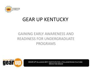 GEAR UP KENTUCKY