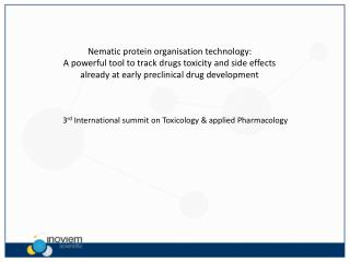Nematic  protein organisation technology: