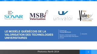Photonics North 2014