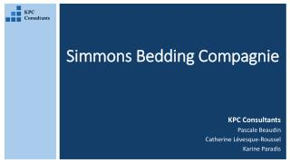 Simmons  Bedding  Compagnie