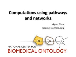 Computations using pathways and networks