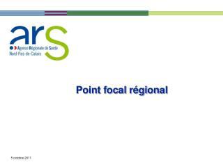 Point focal régional