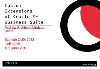 Custom Extensions  of Oracle E-Business Suite