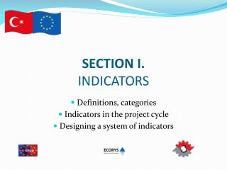 SECTION I. INDICATORS