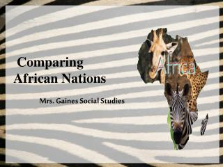 Comparing  African Nations