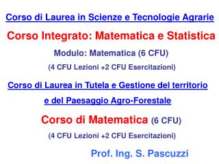 Prof. Ing. S. Pascuzzi