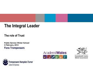 The Integral Leader