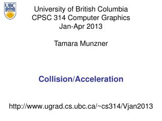 Collision/Acceleration
