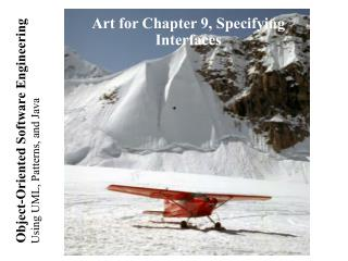 Art for Chapter 9, Specifying Interfaces