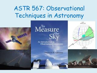 ASTR 567: Observational Techniques in Astronomy
