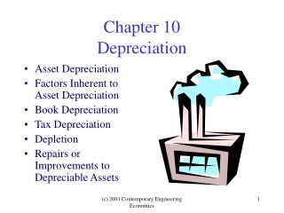 Chapter 10 Depreciation