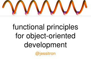 functional principles for object-oriented development